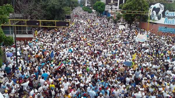 Av. Libertador | Foto: Twitter