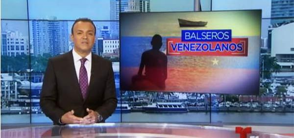 Reportaje Balseros venezolanos | Foto: Captura de video