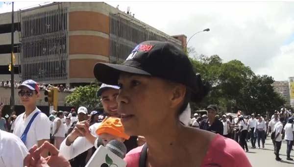Rosa Blanco | Foto: Captura de video