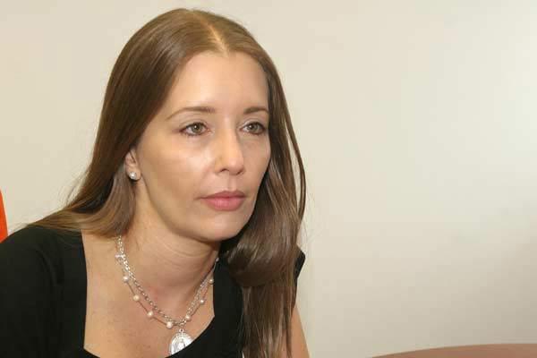 Bonny Pertiñez, esposa de Iván Simonovis  Foto: Runrunes