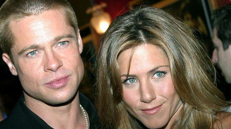 Brad Pitt y Jeniffer Aniston