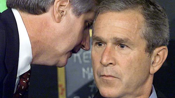 Reacción de George Bush tras enterarse del atentado el 11-S|Foto: AFP