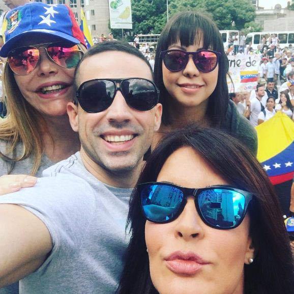 Artistas se manifestaron en apoyo a la Gran Toma de Caracas |Foto: Instagram