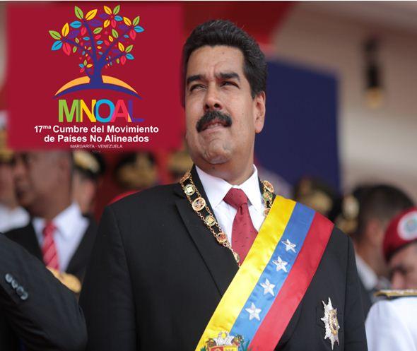 La XVII Cumbre del Movimiento de Países No alineados se realizará en Margarita  Fotomontaje