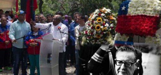 Hoy se cumplen 43 años del derrocamiento y fallecimiento de Salvador Allende, presidente de Chile |Fotomontaje