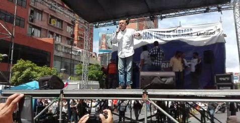 Jesús Chúo Torrealba anunció un cacerolazo nacional |Captura
