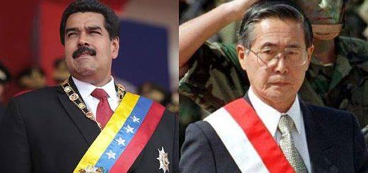 Nicolás Maduro vs Alberto Fujimori |Fotomontaje