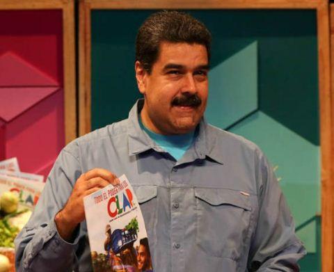 "El presidente se refirió a la ""dieta de Maduro"" a modo de broma  Foto Twitter"