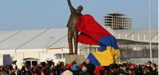 El Gobierno  inauguró la Redoma Hugo Chávez en Nueva Esparta  Foto Twitter