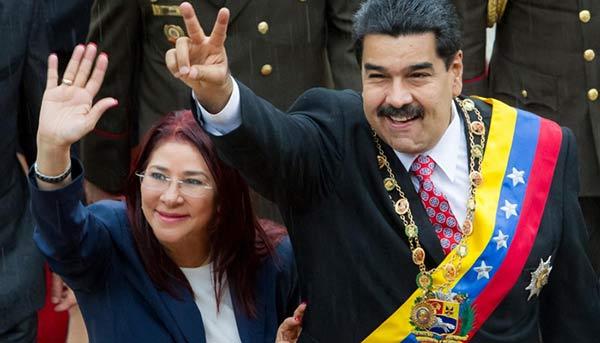 Según Salazar si Nicolás Maduro llega a ser revocado Cilia Flores concluiría su mandato|Foto: Yoyopress