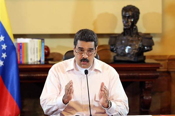Nicolás Maduro   Foto: @DPresidencia
