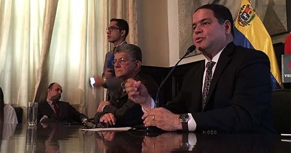 Luis Florido, diputado de la Asamblea Nacional (AN)   Foto: Twitter