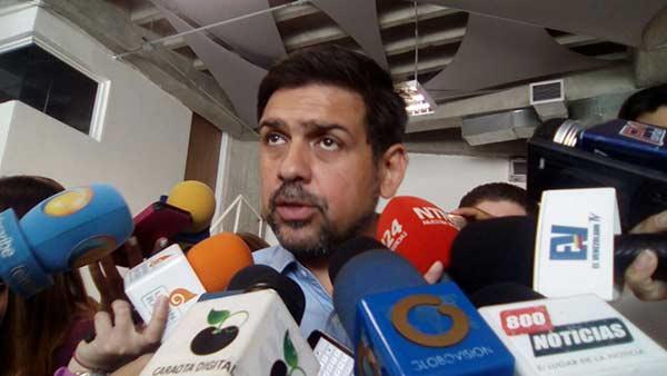 Alcalde Carlos Ocariz | Foto: @UnidadVenezuela