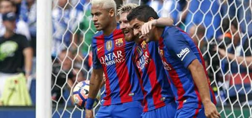 Neymar, Messi y Suárez | Foto: Vía @FCBarcelona_es