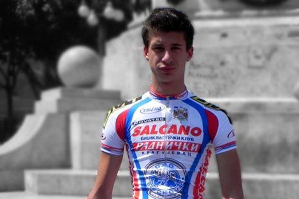 Ciclista serbio Dejan Maric | Foto: CCMA