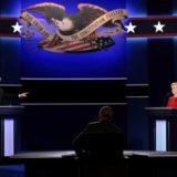 Donald Trump y Hillary Clinton afrontan su primer debate muy empatados en los sondeos|Foto: AFP