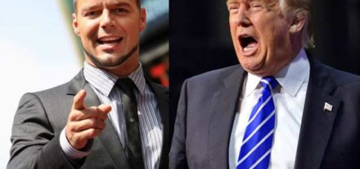 Ricky Martin / Donal Trump | Foto referencial