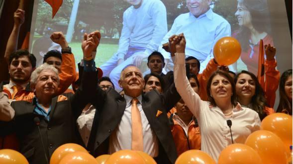 Paco Moncayo buscará la presidencia de Ecuardor