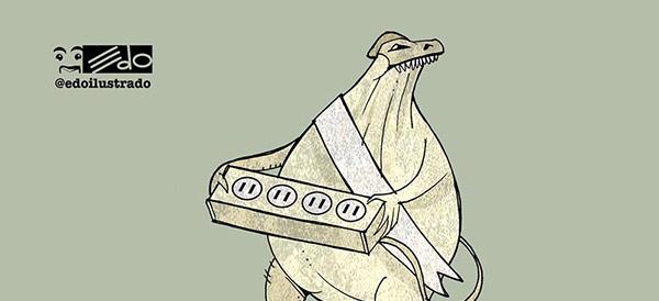 Caricatura EDO