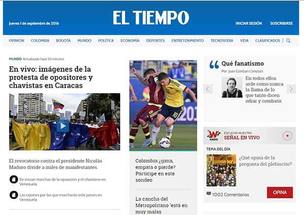 El Tiempo Colombia | Imagen: NotiTotal