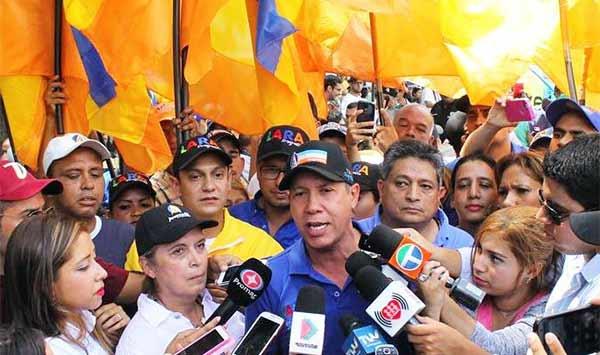 Ex gobernador del estado Lara, Henri Falcón   Foto: @HenriFalconLara
