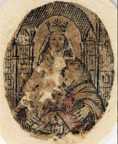 Santa reliquia de la Virgen de Coromoto | Imagen referencial