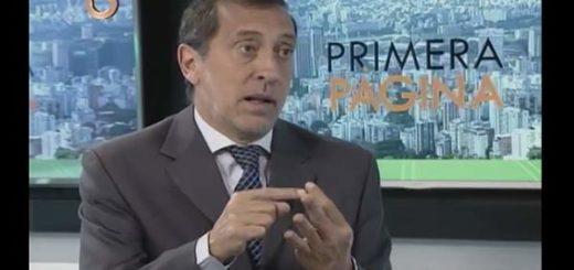 Diputado de la Asamblea Nacional por la MUD, José Guerra | Foto: Captura de video