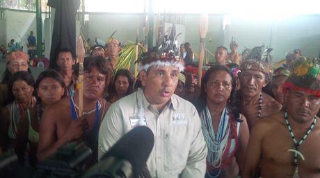 Julio Ygarza, diputado indígena en la Asamblea Nacional |Foto: @jhygarza