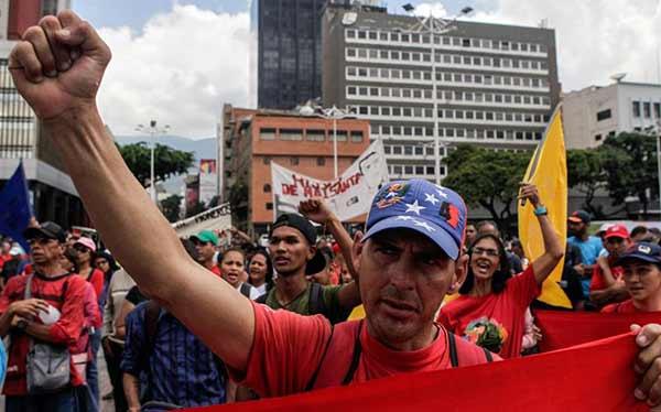 Marcha de oficialistas |Foto: Sumarium