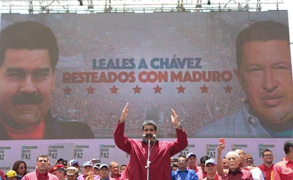 Nicolás Maduro aseguró que la oposición solo reunió 22 mil personas |Foto: @PresidencialVen