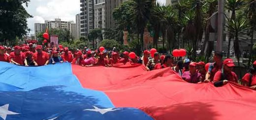 Marcha del oficialismo | Foto: Twitter