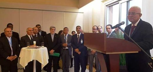 Venezuela asumió oficialmente la presidencia pro témpore del Mnoal en Ginebra, Suiza. | Foto: @vencancilleria
