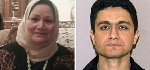MADRE E HIJO. Bozaina Mohamed Mustafa Sheraqi y Mohamed Atta |  ÁLBUM FAMILIAR / FBI