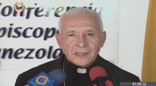 Monseñor Padrón | Foto: Captura de video
