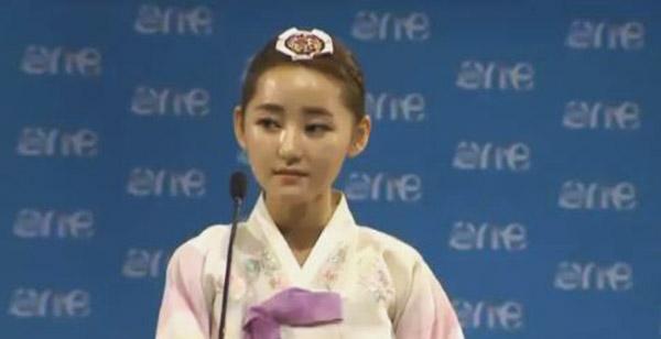 Adolescente exiliada de Corea del Norte   Foto: Captura de video