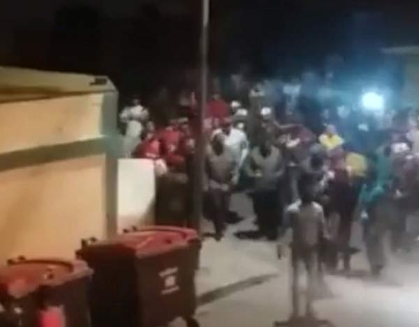 Dos personas detenidas en Villa Rosa por cacerolear a Maduro