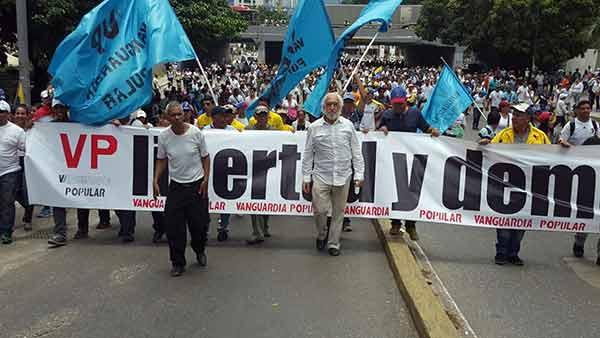 Observadores internacionales acompañan la Toma de Caracas | Foto: Prensa VP