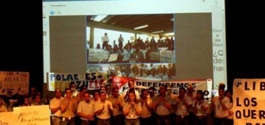 Trabajadores de Polar exigen  respeto y que cese el amedrentamiento |Foto: La Patilla