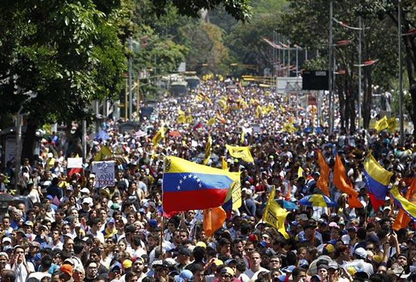 manifestación para exigir el Revocatorio este año |Foto: El Informe