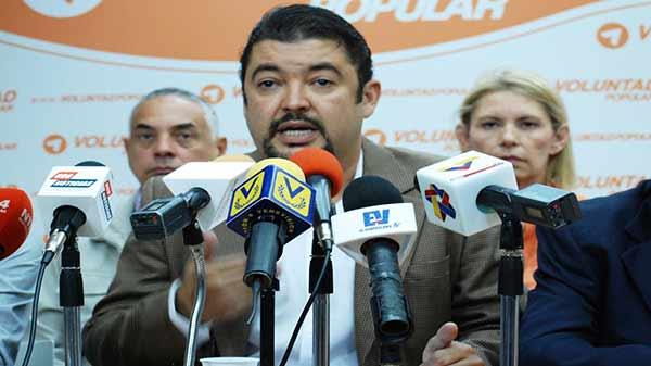Roberto Marrero, Secretario de la Asamblea Nacional | Foto: Cortesía