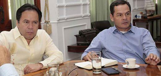 Reunión entre gobernadores de Táchira y el Norte de Santander |Foto: nortedesantander.gov.co