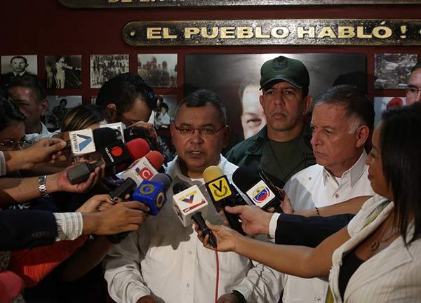 Reverol designó a Luis Guerrero comandante de la PNB en Zulia  Foto Twitter