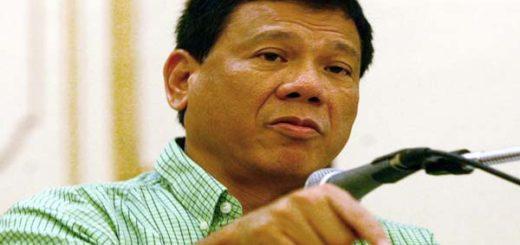 Presidente de Filipinas, Rodrigo Duterte|Foto: agencia