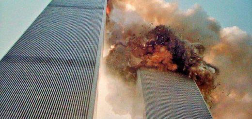 Derrumbe de la Torre Sur del complejo World Trade Center, el 11-S| Foto cortesía