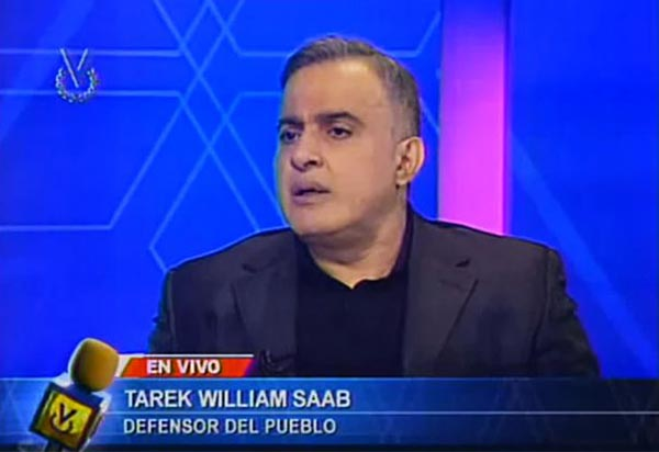 Tarek William Saab | Foto: Captura de video