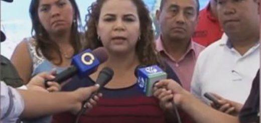 Ministra de Asuntos Penitenciarios | Foto: Captura de video