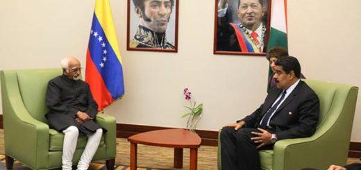 Venezuela e India estrechan relaciones bilaterales   Foto: @PresidencialVen