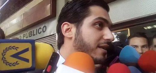 Nizar El Fakih, abogado defensor de Yon Goicoechea | Foto: captura de video