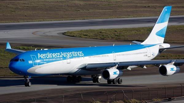 Aerolíneas Argentinas   Foto referencial