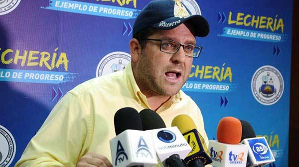 Alcalde de Lechería, Gustavo Marcano | Foto: Cortesía